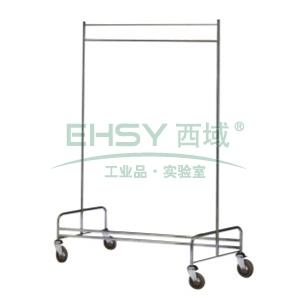 可疊式掛衣架,L1220*W550*H1700, 不銹鋼 單位:個