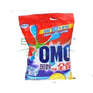 奥妙(OMO)洗衣粉净蓝无磷 1800克/袋