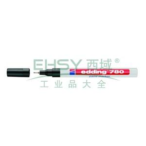 德国艾迪记号笔 油性记号笔,耐高温300度 线幅0.8mm 黑色
