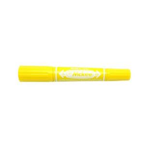 斑马 ZEBRA 大麦奇双头记号笔 MO-150 粗头6.0mm,细头1.5-2.0mm (黄色) 10支/盒