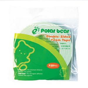 北极熊 SP-013 双面泡棉胶带 36MM*5M 绿色 单卷