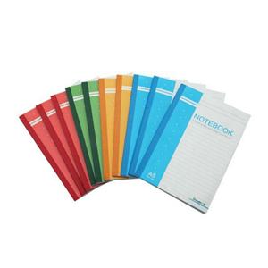 广博GBR0730 A5包背本(80页)(红/蓝/绿/黄) 单位:本