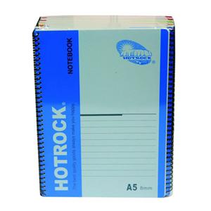 何如(Hotrock) R1050 螺旋装订本 A5 50页 12本/封