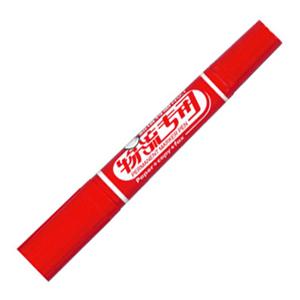 金万年 K-0918-003 大号双头油性记号笔  红色 单支