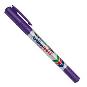 Artline旗牌 双头记号笔EK-041T 紫色 单支