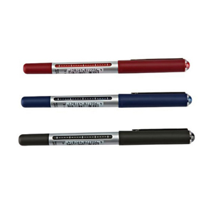 三菱 uni 直柱式耐水性走珠笔, UB-150 0.5mm (黑色) 单支