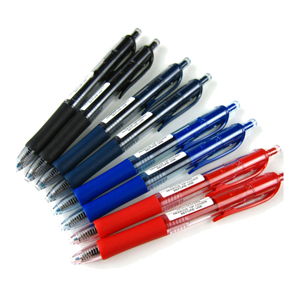 三菱 uni 按压式中性笔, UMN-152 0.5mm (蓝黑) (替芯:UMR-85) 单支