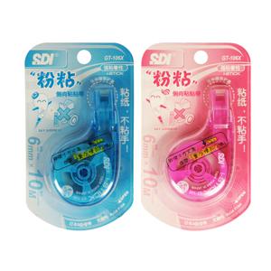 手牌 GT-106X 10米侧向黏贴带 粉红/粉蓝 单支
