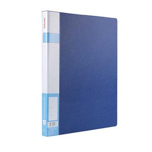 易达 86015 PP文件夹 A4 单强力夹 蓝色