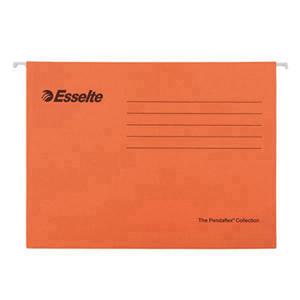 易达 393129 吊式文件袋 A4 橙色