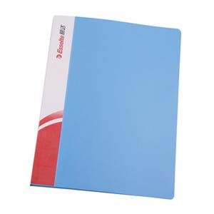 易达 舒适型 A4 单强力文件夹88015 湖兰色