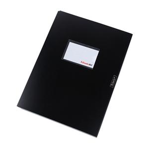 易达 847127 档案盒 A4 2寸 黑色