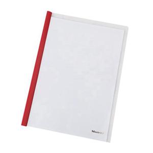 易达 74001 拉杆文件夹 A4容量30页背宽10mm  5个/包 透明白色