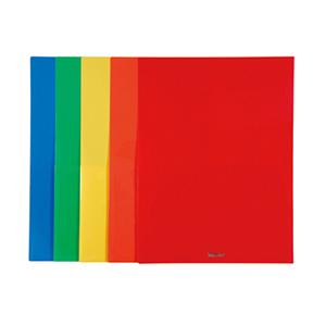 易达 亮彩单色双袋文件套 A4  74090
