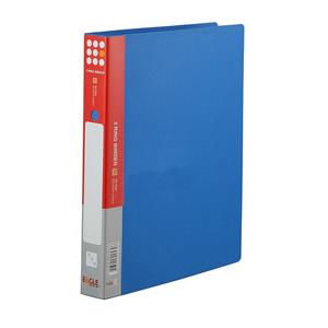 益而高 E530/2 三孔夹 A4 3孔夹 蓝色