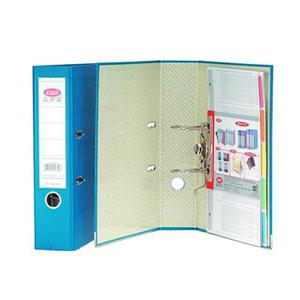 益而高 9300B/1 纸板文件夹 A4 蓝色 单个