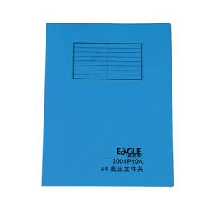益而高 FC纸皮文件夹300P10F(兰) 20个/包