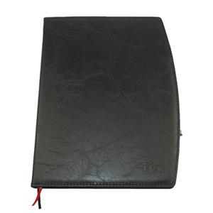 毅力达 16K弧边带仿皮笔记本MA-2309(黑色)