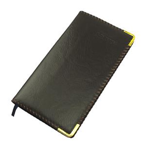 毅力达 48K 100页仿皮笔记本MA-1206(棕色)