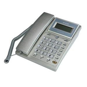 步步高 HCD007(6101)/(101)SDL 电话机 银色 流光银色