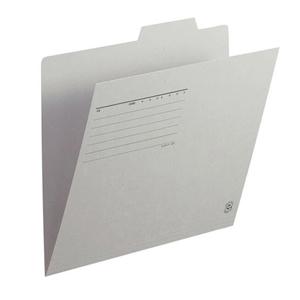 普乐士 FL-061IF 单片夹 A4  浅灰色 单个