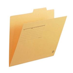 普乐士 FL-061IF 单片夹 A4  鹅黄色 单个