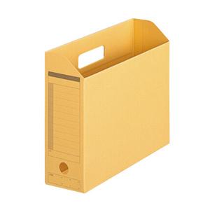 普乐士 FL-051BF 横式文件盒 纸质 鹅黄色 单个