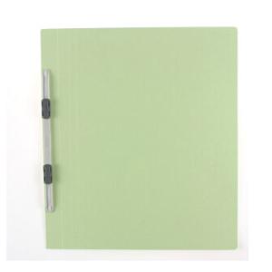 普乐士 NO.021N 易装双孔夹 A4-S A4  淡绿色 单个