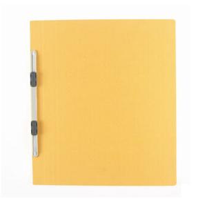 普乐士 NO.021N 易装双孔夹 A4-S A4  鹅黄色 单个