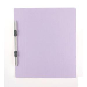 普乐士 NO.021N 易装双孔夹 A4-S A4  浅紫色 单个