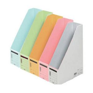 普乐士 FL-052BF 竖式文件盒 纸质 淡绿色 单个
