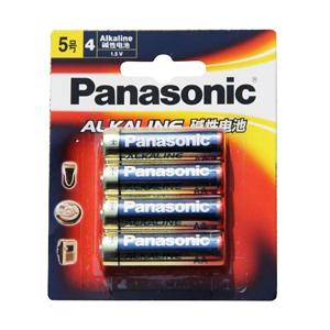 松下 LR6BCH/4B 5号碱性电池 5号、4粒装