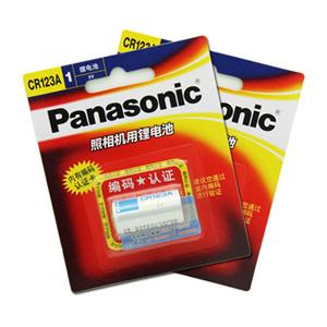 松下 照相机用锂电池, 1粒/卡 CR123A/CR17345单位:卡