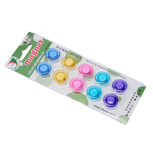 亿裕 迷你水晶磁粒, (直径2cm,蓝、黄、红、绿、紫共5色,10粒/卡 2010 单位:卡