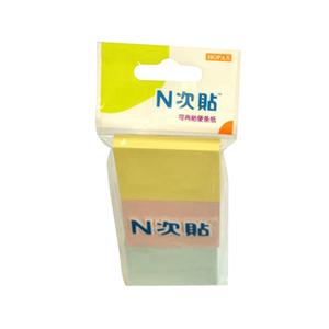 """N次贴 32017 组合型便条纸  1.5""""×2"""""""