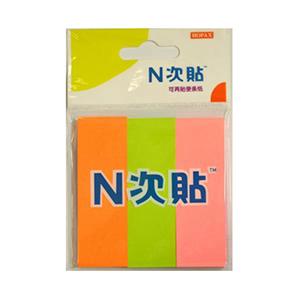 """N次贴 32006 组合型便条纸 3本/包 3""""×1"""""""