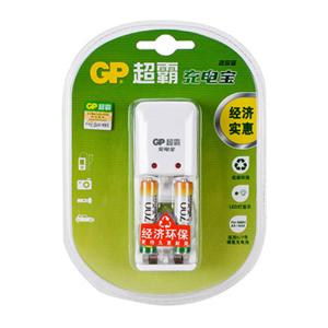 超霸 KB02GW70-2IL2 充电宝套装 附700毫安时电池 2节 1只/套