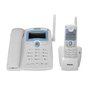 飞利浦 TD-6816  子母电话机  白色