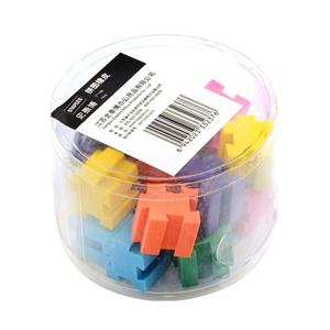 史泰博 拼圖橡皮, 混色 18塊裝 單盒 21196 單位:盒