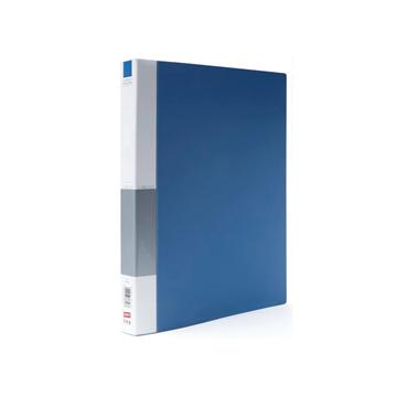 史泰博 NP1039 O型二孔文件夹 A4 蓝色 单只