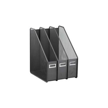 史泰博 LB3003 三档文件栏  黑色
