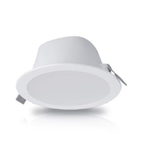 飞利浦 8W 明皓LED筒灯二代 600流明 5寸 开孔尺寸φ125mm  色温5000K CRI80, DN025B LED6/850 PSU D125 WH