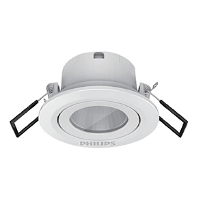 飞利浦 3W 明皓射灯II代嵌入式,开孔Ø58,RS022B LED2,4000K MB 27°WH 自然白,单位:个