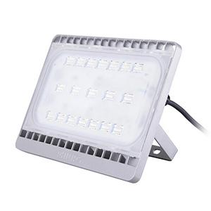 飞利浦 70W LED泛光灯,3000K,BVP161 LED60/WW 70W 220-240V 76x36°