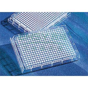 384孔板,平底,透明,非结合表面,用于荧光测定,25个/包,下单按照4的整数倍