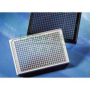 384孔板,透明,平底,TC表面,PS材质,带盖,灭菌,20个/包