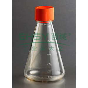 三角培养瓶,250ml,31mm颈瓶直径,密封盖,PC材质,独立包装,1个/包