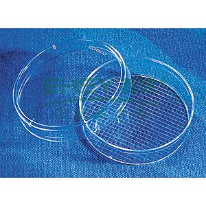 培养皿,60*15mm,带格,TC表面,PS材质,灭菌,大包装,20个/包