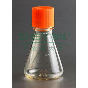 三角培养瓶,125ml,26mm颈瓶直径,密封盖,PC材质,独立包装,,1个/包