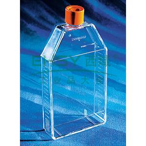 培养瓶,150cm²,直角斜颈,密封盖,PS材质,灭菌,散装,5个/包